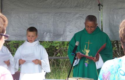 Messe en plein air